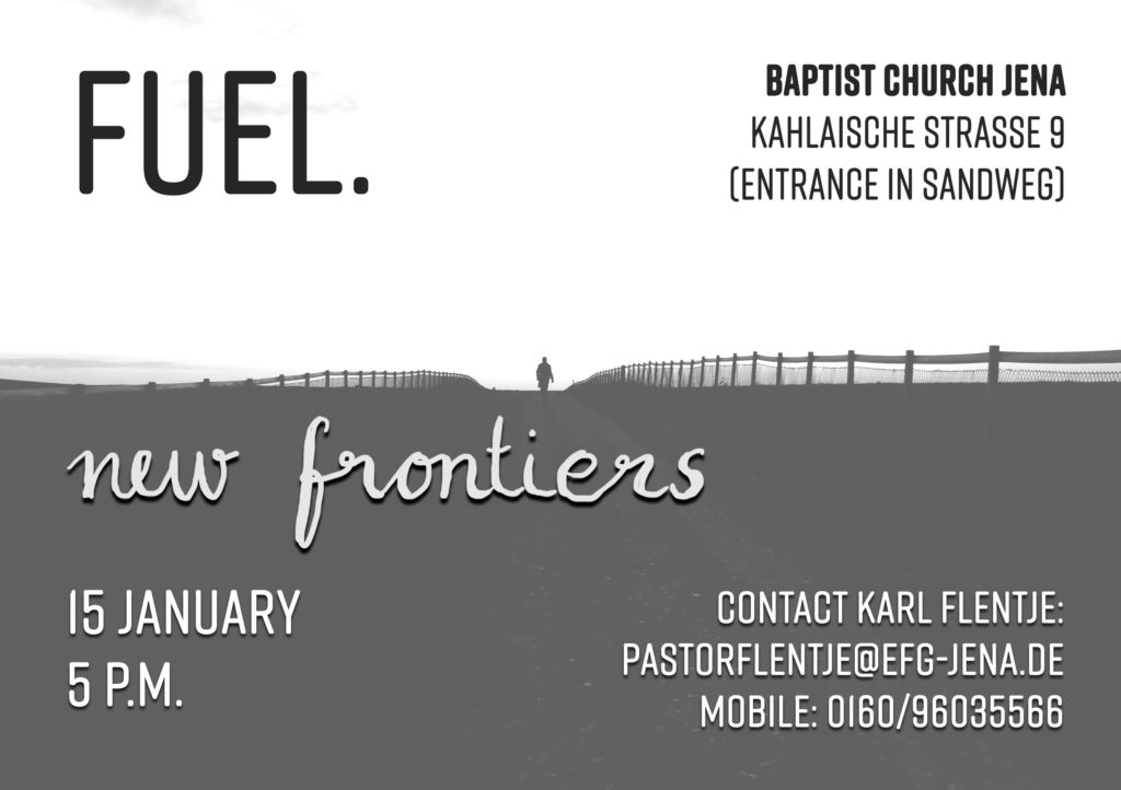 FUEL- The English Language Worship Service in January