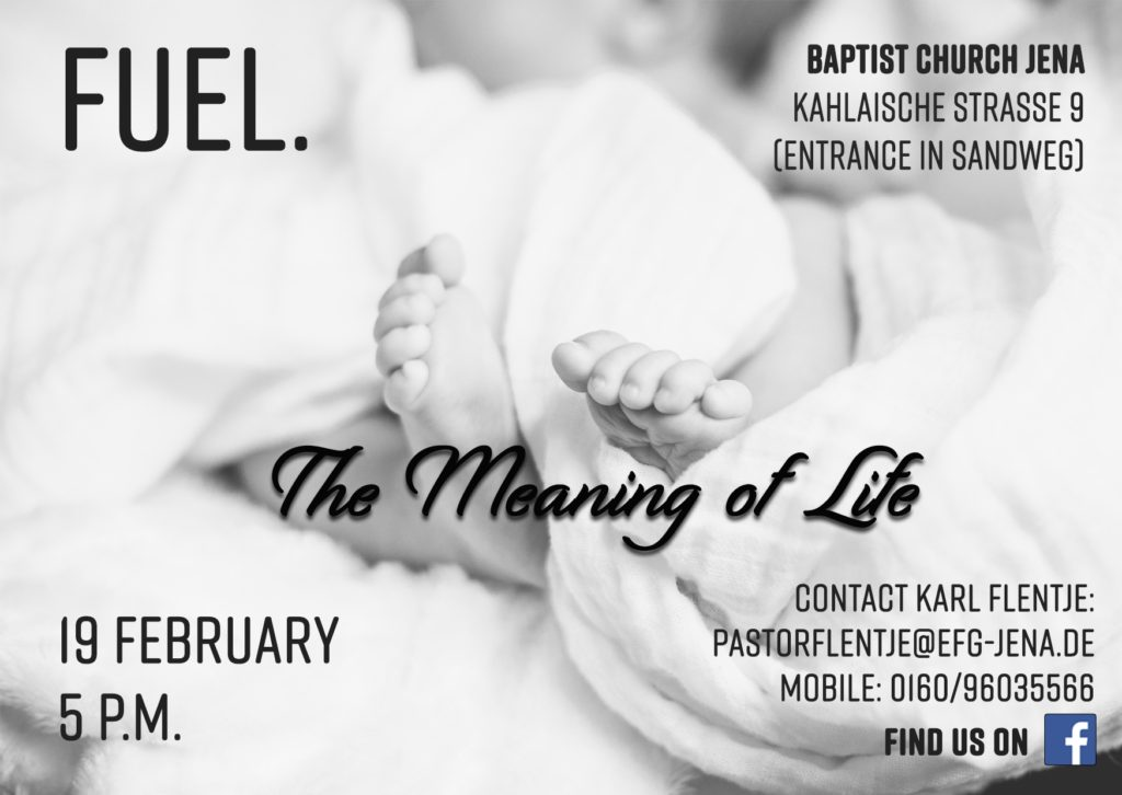 FUEL- The English Language Worship Service in February