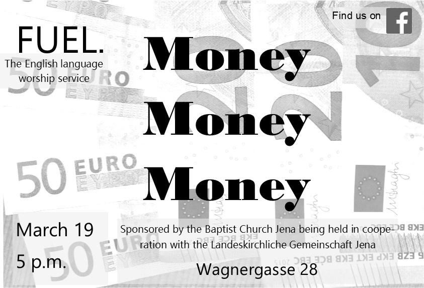 FUEL- The English Language Worship Service in March