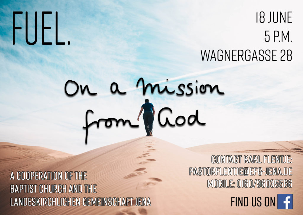 FUEL- The English Language Worship Service in June