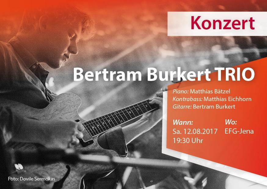 Konzert am 12.08.2017, 19.30 Uhr