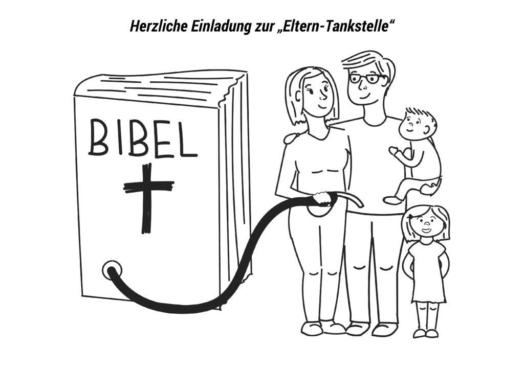 """Herzliche Einladung zur """"Eltern-Tankstelle"""""""