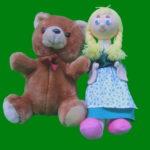 Handpuppenspiele - Klara und Bärti